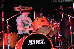 Gallows (Tamlyn Koga Photography) Tags: drummer slims gallows