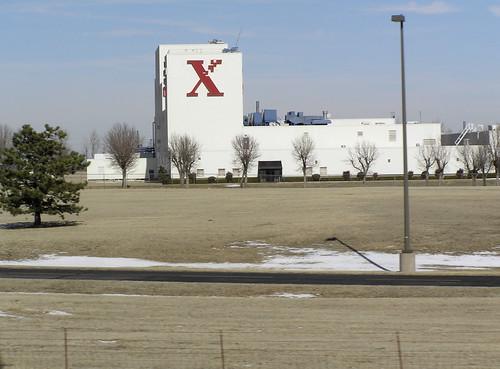 Xerox Park campus building.