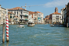 Grand Canal at the Accademia Bridge