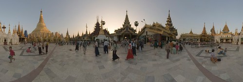 Shwedagon Pagoda in Yangon (Rangoon)