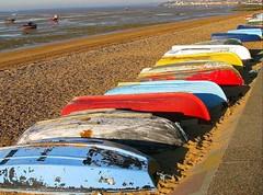 Bottoms Up! ( Bo ) Tags: seascape canon boats shade shoeburyness tideout 50faves 35faves 100comments viewonblack colorphotoaward favemegroup5 colourartaward platinumheartaward artlegacy canong9 life~asiseeit
