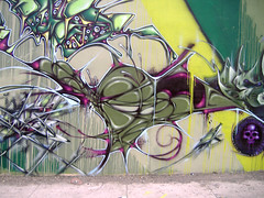 codak (DMISE.) Tags: art graffiti san texas 5 tx caps crew production antonio laws clogged cc5 codak