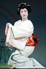 K I M I N A : Kyo Odori (mboogiedown) Tags: woman beauty japan japanese dance spring kyoto traditional culture geiko geisha kyo april kimono kansai odori miyagawa miyagawacho oshiro kyomai kimina anawesomeshot