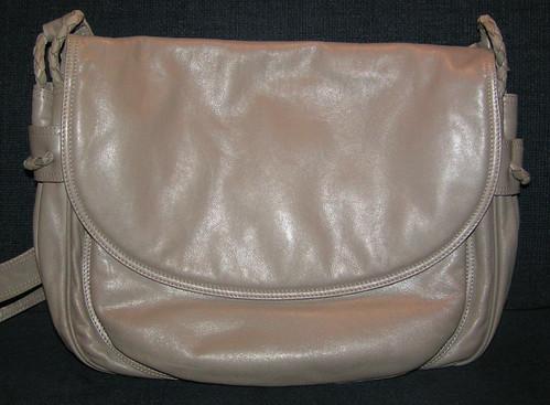 Väska fr Bottega Veneta.