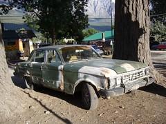 El Bolson - voiture