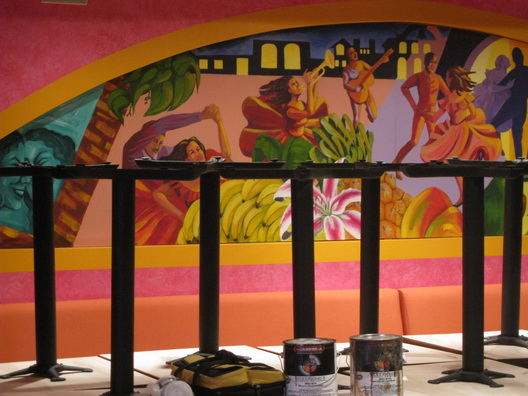 Barrio Murals-Tables