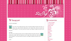 Striped Flower Pink (blogbasics) Tags: