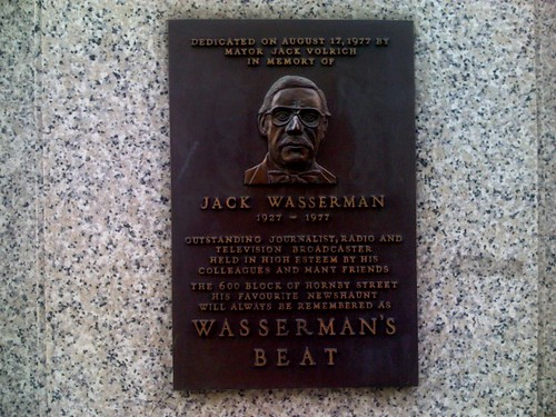 Wasserman's Beat