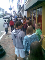 Free Cone Day 1: Line