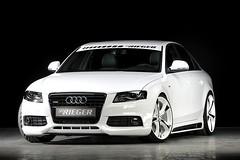 Audi A4 3.0 TDI Rieger tuning
