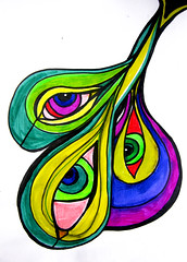 IMG_9378 (pourmore) Tags: sexy pen watercolor drawing porn marker sketches subversive peacocks rotulador tattooidea notmybody thespacebetweenblueandgreen artiserotic
