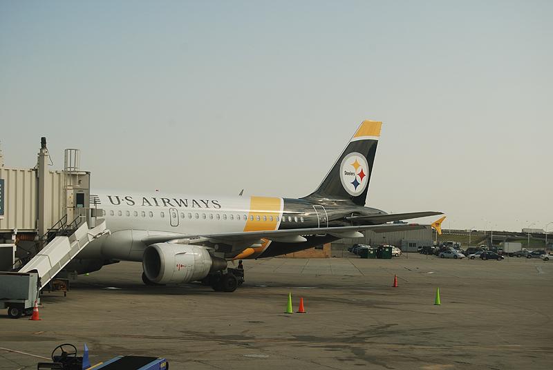 Steelers Plane