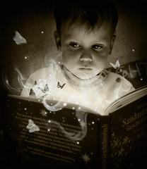 . child's fantasy (di.SUN.ity) Tags: light boy shadow cute butterfly buch book licht child magic innocent kind davin fantasy schatten sss junge schmetterling magie phantasie boundless unschuldig grenzenlos loveyoumydear disunity childsfantasy kinderphantasie elitechildimages katrinlindner