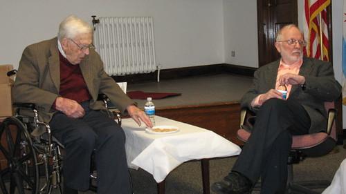 Leon Despres (l.) and Kenan Heise (r.)
