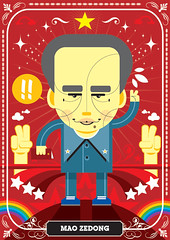 Dikt 01 / Mao Zedong (francescoporoli) Tags: illustration mao vektor zedong diktatores
