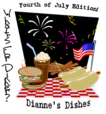What's for Dinner 4th of July Graphic
