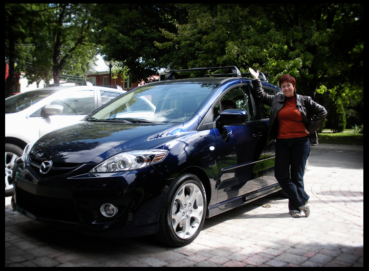 La Mazda 5 d'Hélène
