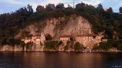 Lago Maggiore 11/10/2015: The Hermitage of Santa Caterina del Sasso  /  Eremo di Santa Caterina del Sasso