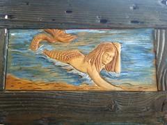 maermaid on the beach -γοργόνα στην ακροθαλασσία