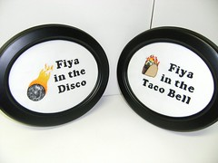 Fiya in the Disco, Fiya in the Taco Bell (w/ flash)