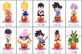 Dragon ball Chara Puchi: Serie 6