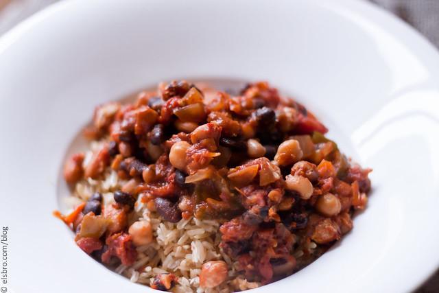 Coconut Rice & Chili