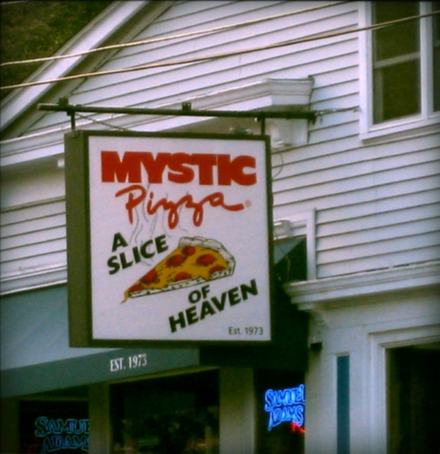 mystic pizza sign