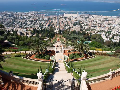 Haifa - Jardines Centro Bahaí