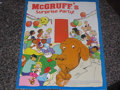 McGruff Surprise Party Book