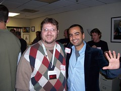 Douglas E. Welch and Lunch 2.0 organizer, Andrew Warner