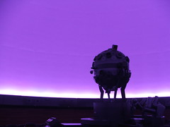 (lincoln koga) Tags: sky azul machine cu lincoln roxo 2007 experincias manh comeo koga monocromtico planetrio aberto intervalos amadurecimento primeirosanos