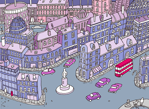 Colour Town and Cars