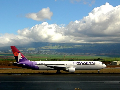 Hawaiian 767 por CruisAir.