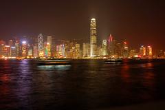 Hongkong by night (miiichou) Tags: night d50 hongkong view mgapole