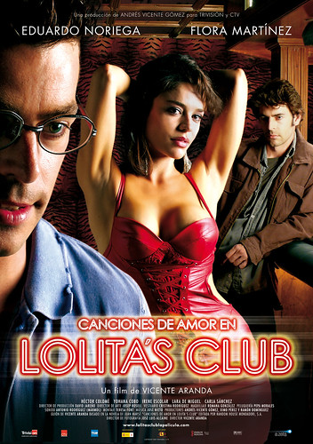 Póster y trailer de 'Canciones de amor en Lolita's Club'