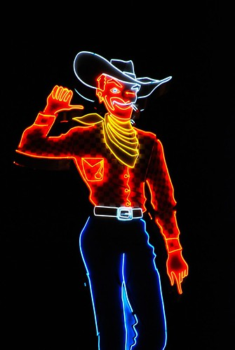 Pioneer Cowboy, Night