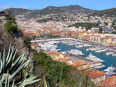View of the port of Nice (Bn) Tags: vacation holiday france nice mediterranean searchthebest ctedazur traveling breathtaking frenchriviera lavie supershot 10faves flickrsbest platinumphoto impressedbeauty aplusphoto wowiekazowie francelandscapes ishflickr