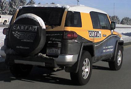 FJ cruiser CarFax