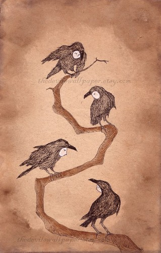 54/365 crow folk