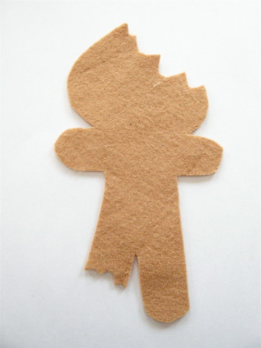 Elsie Marley  Blog Archive  Pattern For A Half Eaten Gingerbread Man