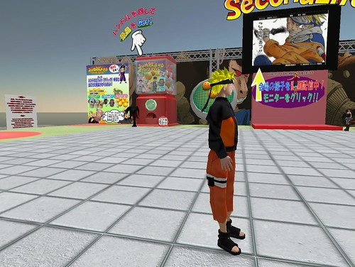 Naruto Manga Ninja Video Games Online | Second Life Update