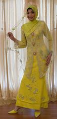 lime4 (puteri najwa) Tags: hijab muslimah sanding kahwin frenchlace tudung nikah bajupengantin puteris