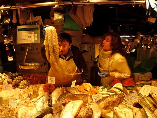 Market in Barcelona