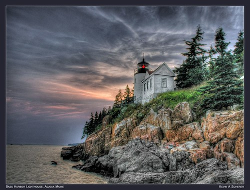 Bass Harbor Lighthouse, Acadia Maine v6