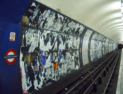 Adless Leicester Square Tube