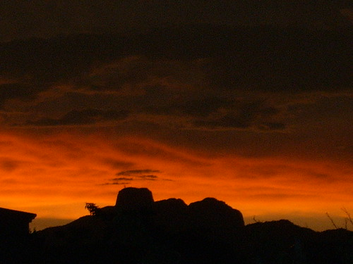 cacharamba at dusk..... photo taken from Alamos by robyn tinus----