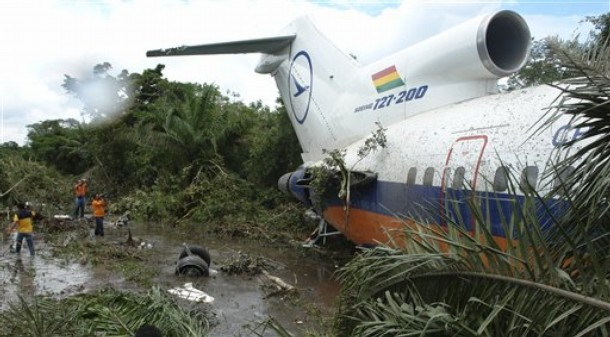 Bolivia Forced Landing