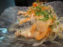 salade de chinchard (ou sardine?)