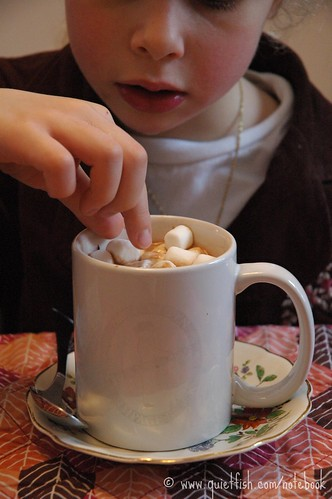 Day seven: Hot chocolate