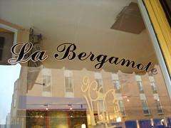 Sign, La Bergamote